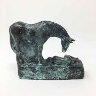 Sophie Howard 'Lying' Horse Sculpture